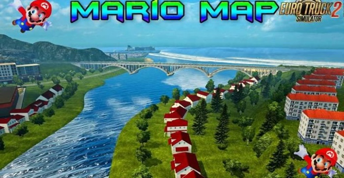 Photo of ETS 2 – Mario Map (1.30.X)