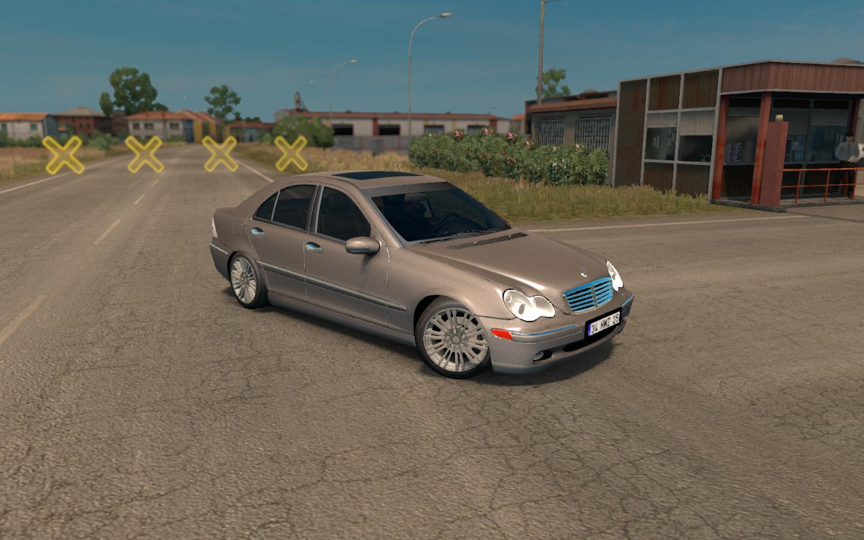 Ets2 mercedes benz c32amg c320 v1 0 truck for Mercedes benz c320 parts