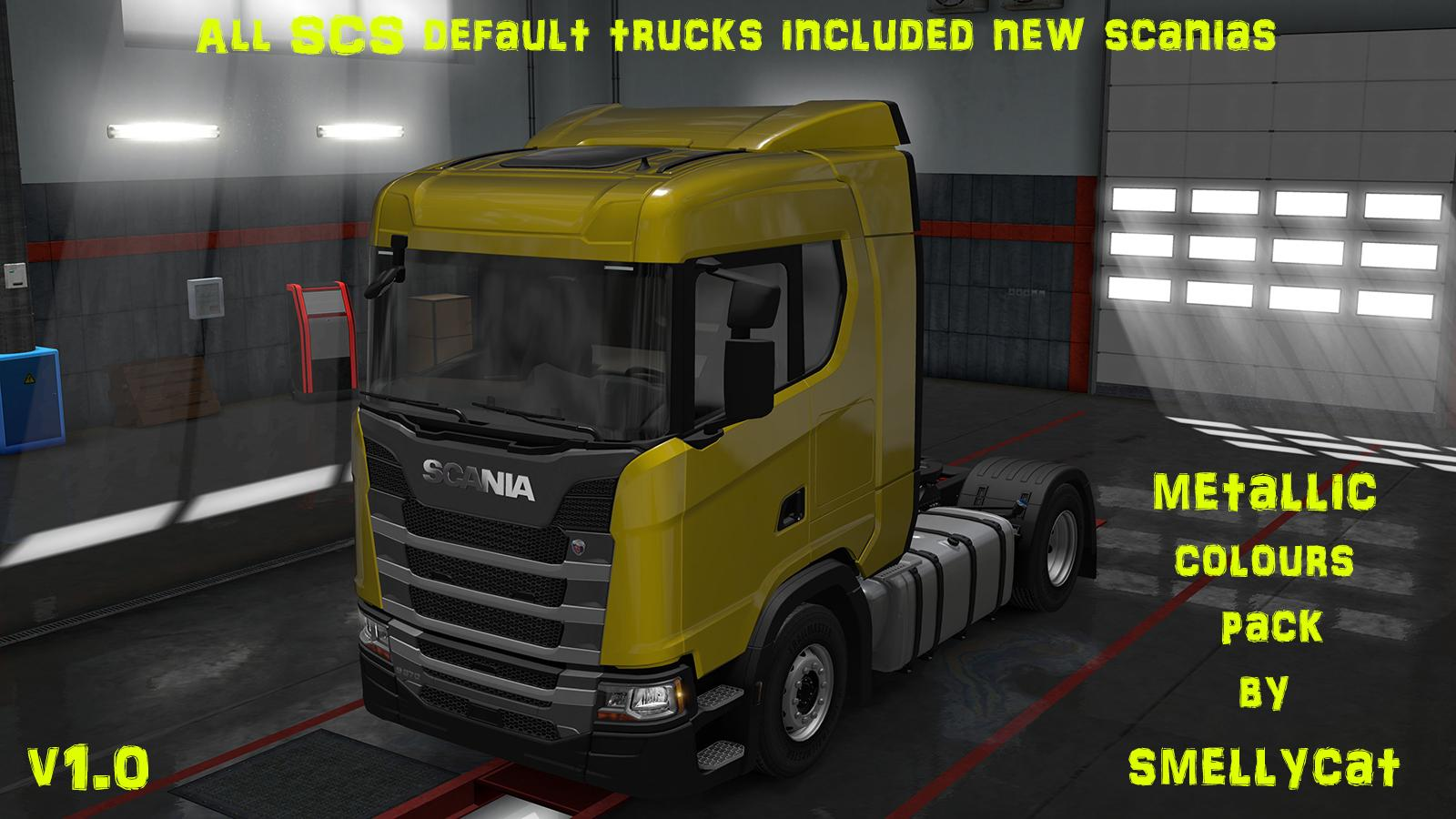 Photo of ETS2 – Metallic Colours Pack V1.0 (1.30.x)