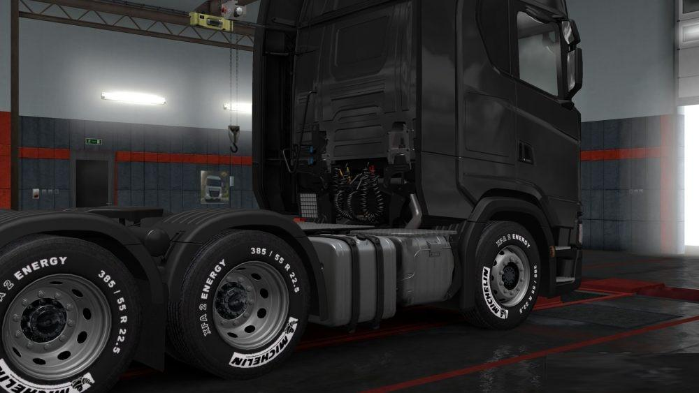 Photo of ETS2 – Michelin Tires for All Trucks (1.30.x)