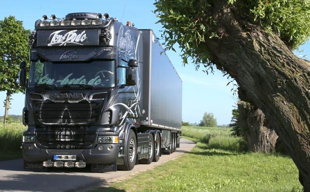 Photo of ETS2 – Scania Ghost V8 Open Pipe Sound V1.1