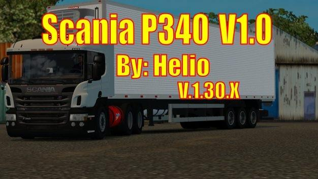 Photo of ETS2 – Scania P340 (1.30.x)
