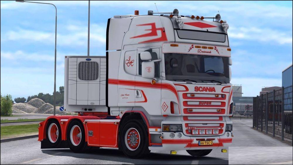 Photo of ETS2 – Scania R620 Jesper Hansen V1.0 (1.30.x)