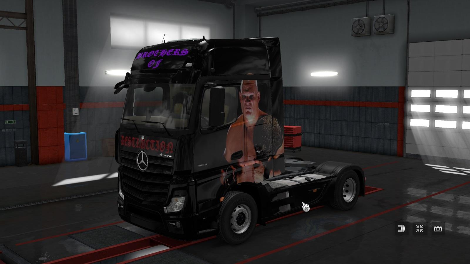 Photo of ETS2 – Skin for Mercedes Mpiv Zbrothers V1.0 (1.30.x)