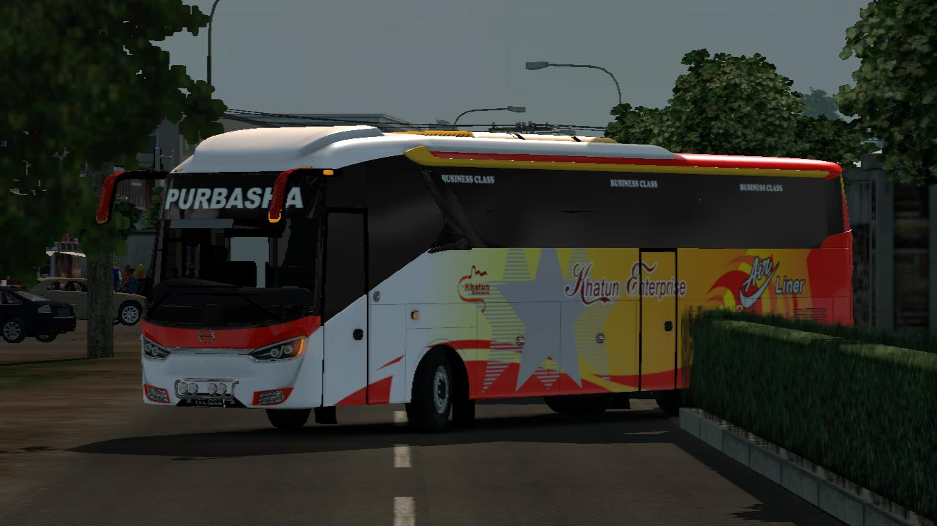 Photo of ETS2 – Sks Hino Rn Bus (1.30.x)