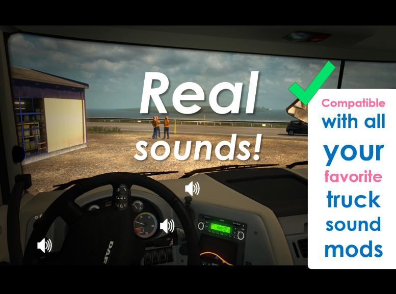 Photo of ETS2 – Sound Fixes Pack V18.1 (1.30.x)