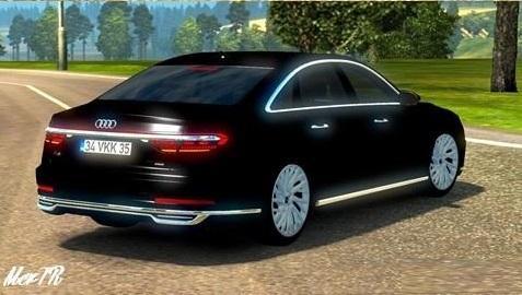 Photo of ETS2 – Audi A8 2018 V1.0 (1.30.x)