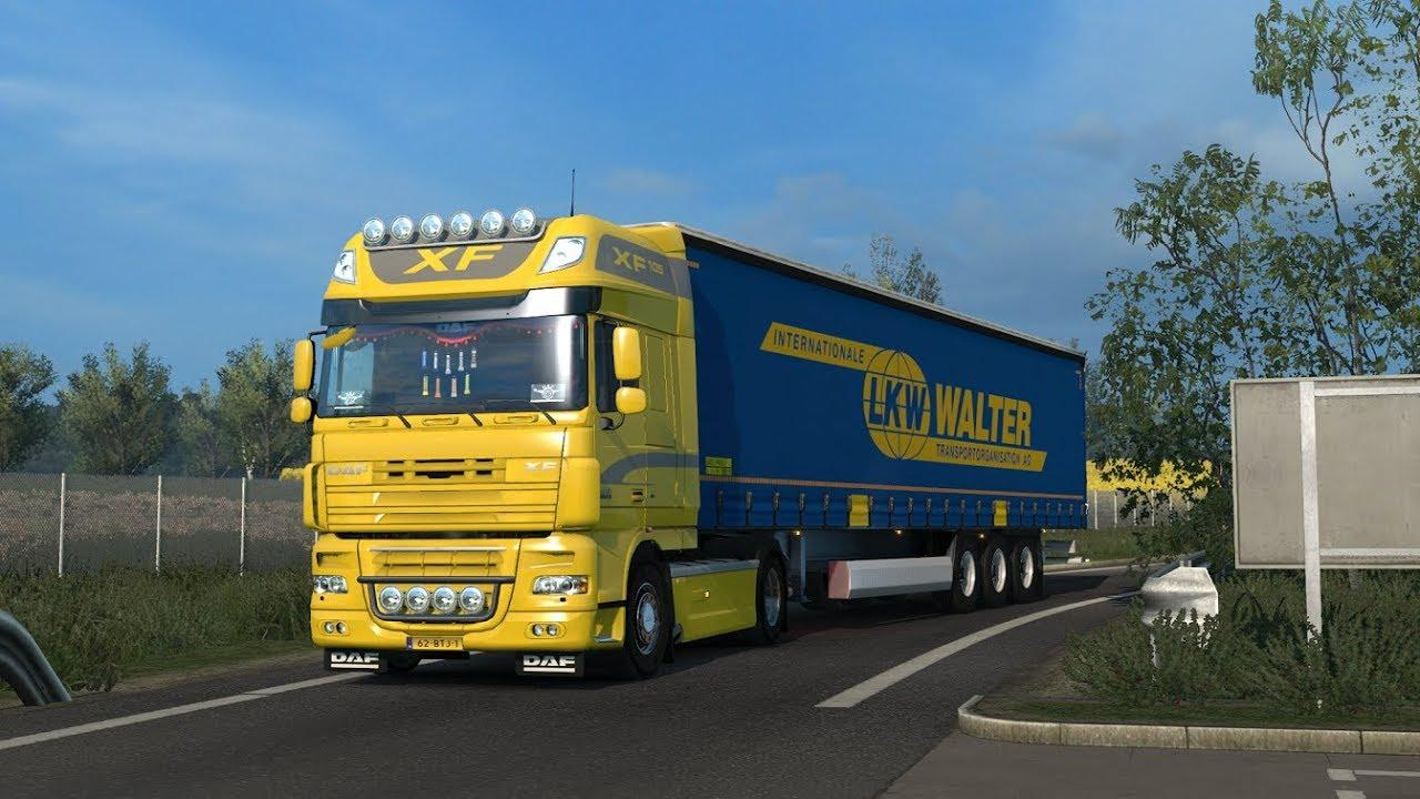 Photo of ETS2 – Daf Xf Open Pipe Sound V10.0 (1.30.x)