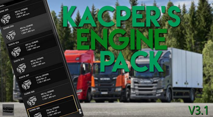 Photo of ETS2 – Engines Mega Package by Kacper V3.1