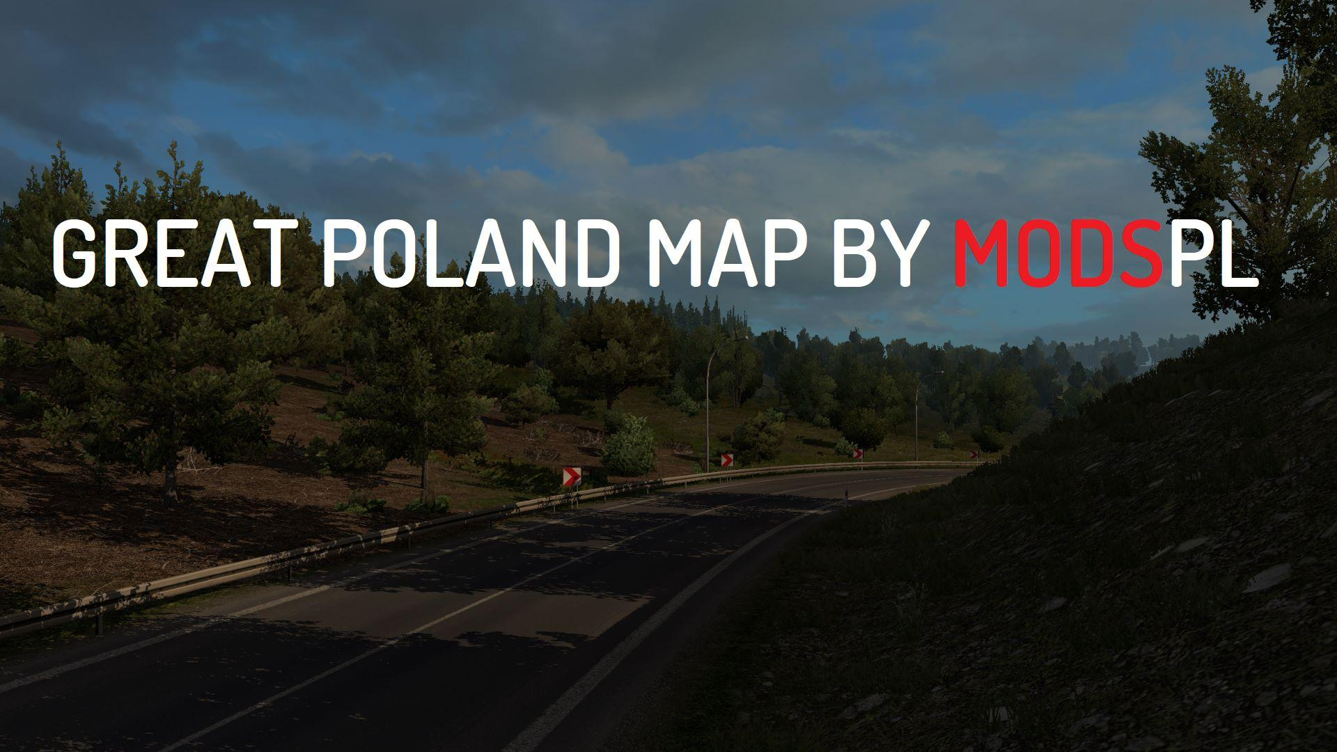 Photo of ETS2 – Great Poland Map V1.3.0 (1.30.x)