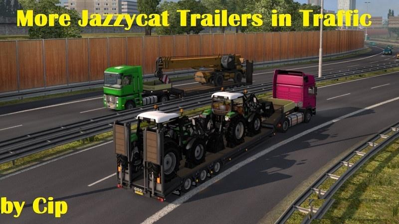 ETS2 - Jazzycat Trailers Pack Traffic Addon V1 0 (1 30 x