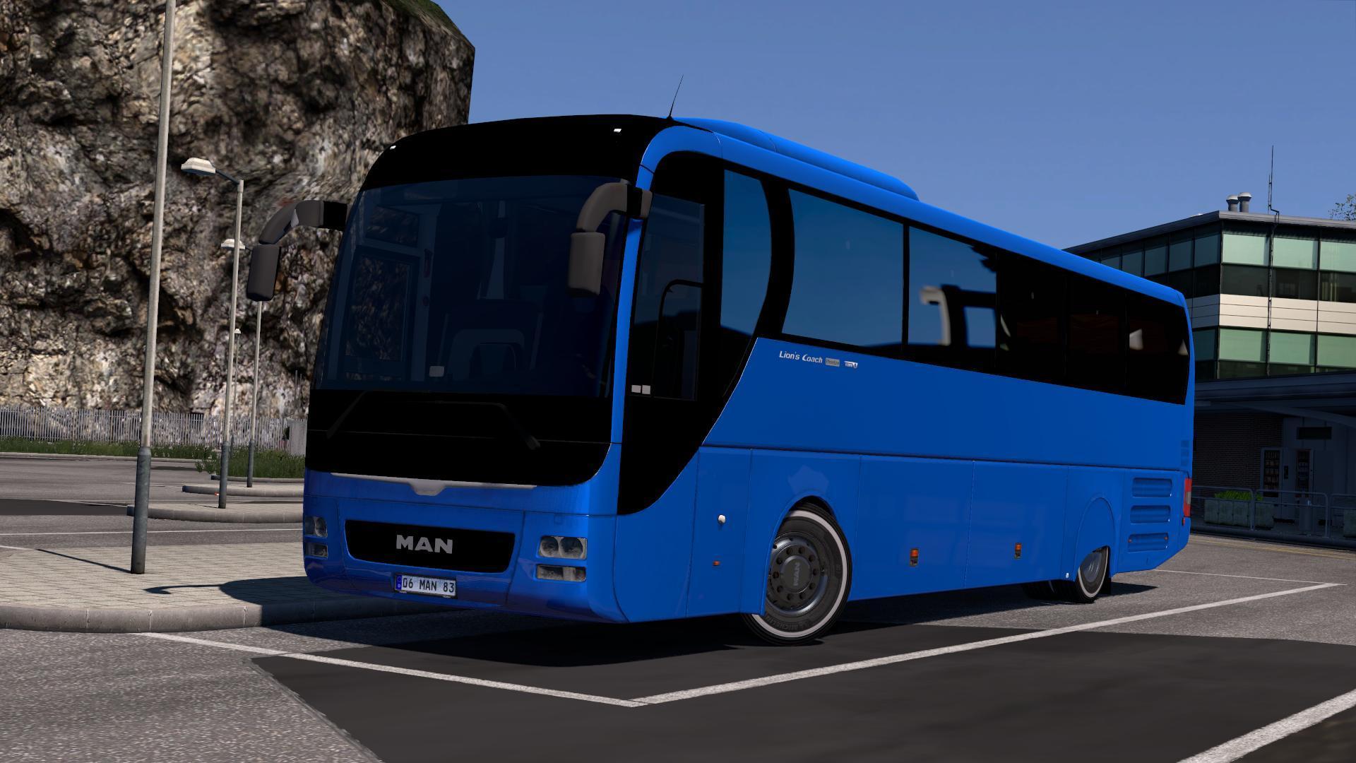 Photo of ETS2 – Man Lion's Coach Euro 6 V2.0 (1.30.x)