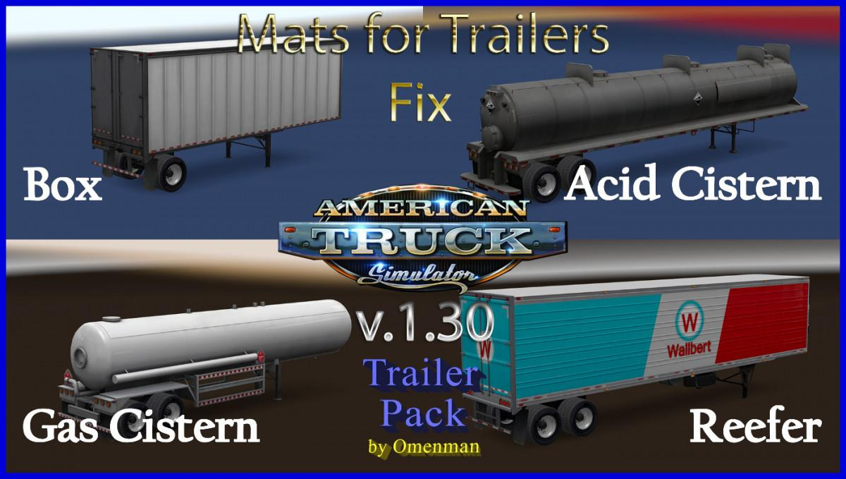 Photo of ATS – Mats for Trailers V1.30 (Fix)