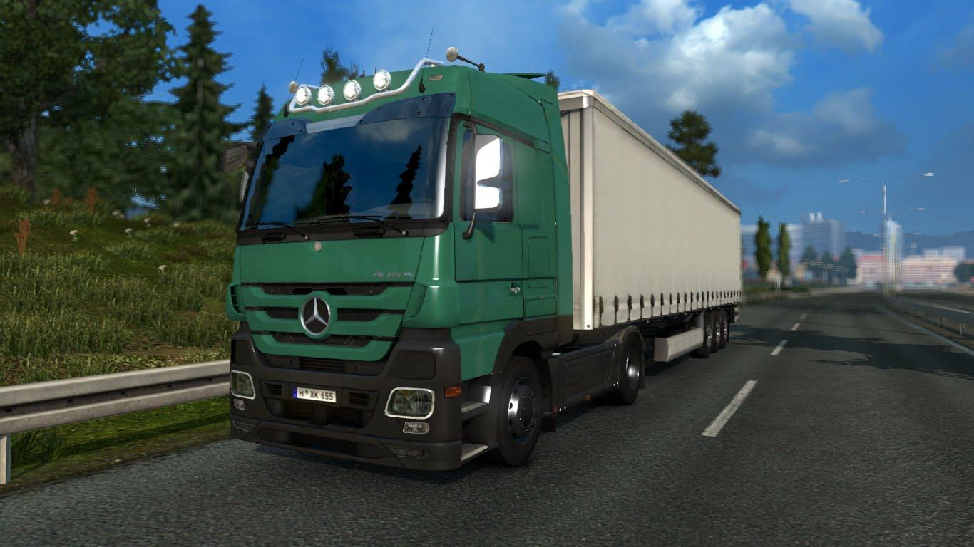 Photo of ETS2 – Mercedes Actros Mp 3 Sound (1.30.x)
