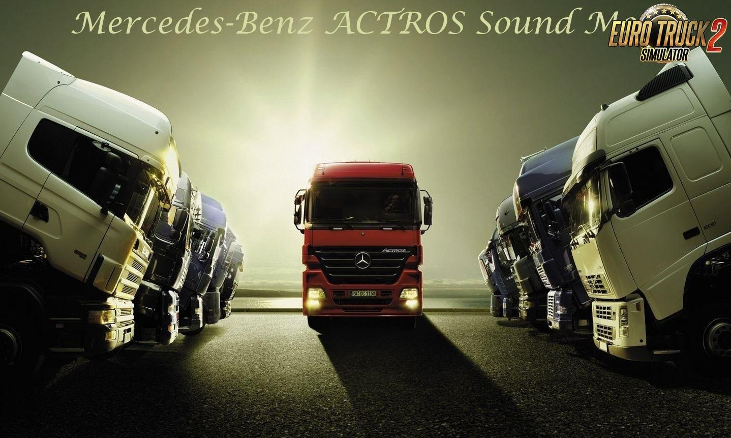 Photo of ETS2 – Mercedes Actros Mp3 Sound by Leen (1.30.x)