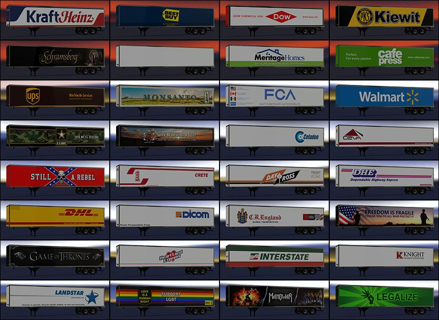Photo of ATS – New Usa Trailers Pack V3.0 (1.30.x)