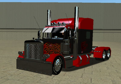 Photo of 18 WoS Haulin – Peterbilt 379 Custom