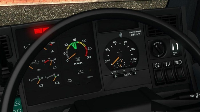 Photo of ETS2 – Scania 4 Series Gauges *Update* V1.0 (1.30.x)