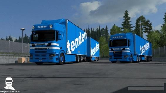 Photo of ETS2- Scania R Next Gen Thor Tenden Pack V1.0 (1.30.x)