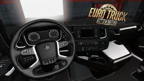 Photo of ETS2 – Scania S Next Gen White Leather Interior V1.0 (1.30.x)