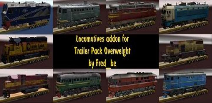 Photo of ATS- Addon For The Trailer Pack Overweight V1.30 For Ats V1.0