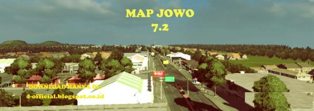 Photo of ETS2 – Map Jowo V7.2 (Indonesian Map for Ets2 V1.30)