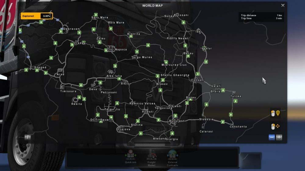 Photo of ETS2 – Romania Extended Map V0.9 Beta (1.30.x)