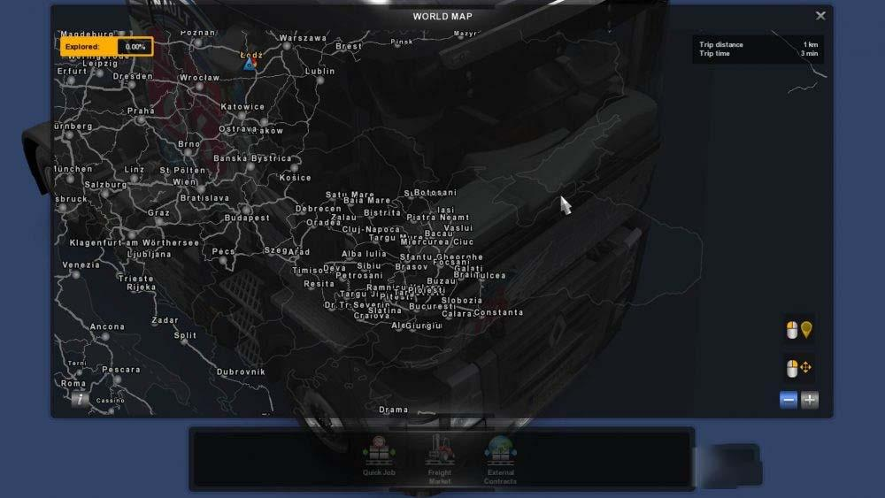 Photo of ETS2 – Romania Extended Map V0.8 (1.30.x)
