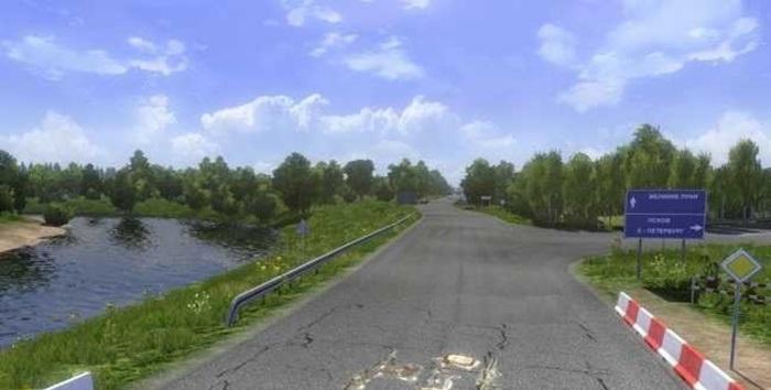 Photo of ETS2 – Map Russian Roads V0.1 Beta (1.30.x)