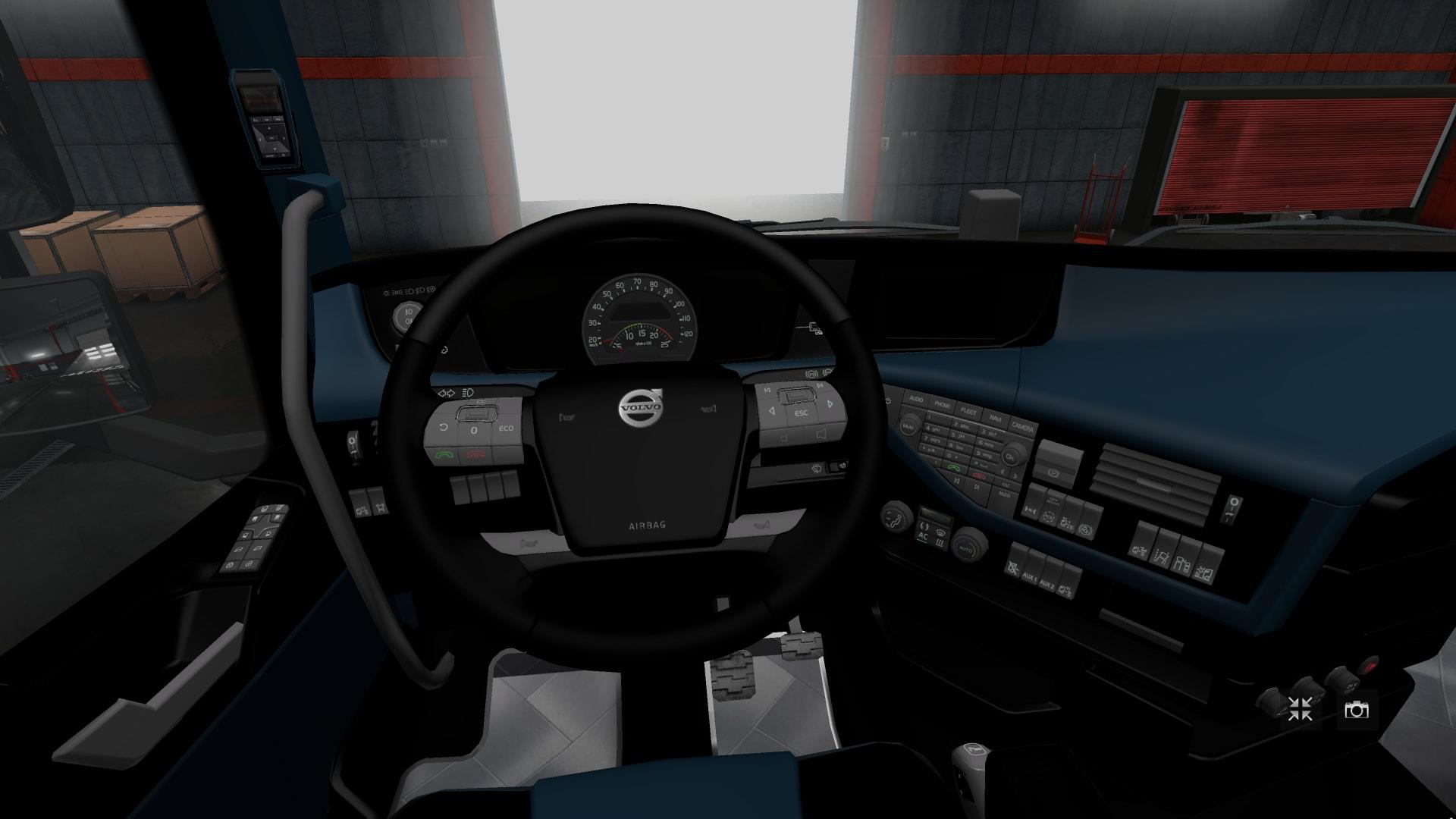Photo of ETS2 – Interior for Volvo Fh 2 V1.0 (1.30.x)