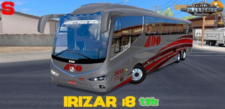 Photo of ATS – Bus Irizar I8 + Interior V1.0 1.31.x