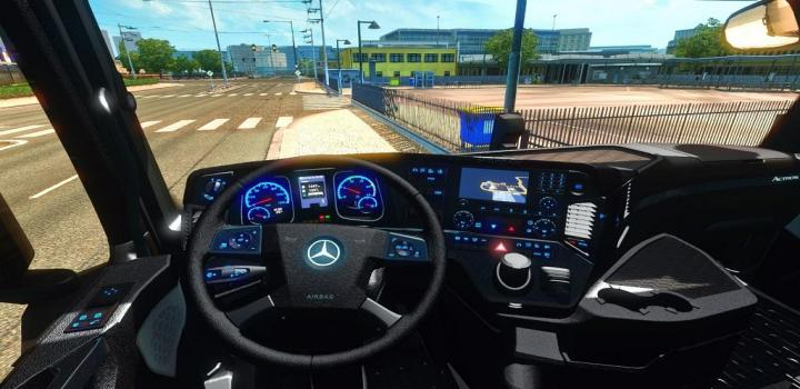 Photo of ETS2 – Carbon Fiber Mp4 Black Interior V1.0 (1.31.X)
