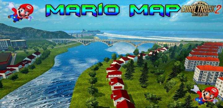 Photo of ETS2 – Mario Map V12.7 – New Update (20.07.2018) 1.31.x