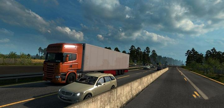 ETS2 - Realistic Traffic Density By Camilasg 1 31 x | Truck