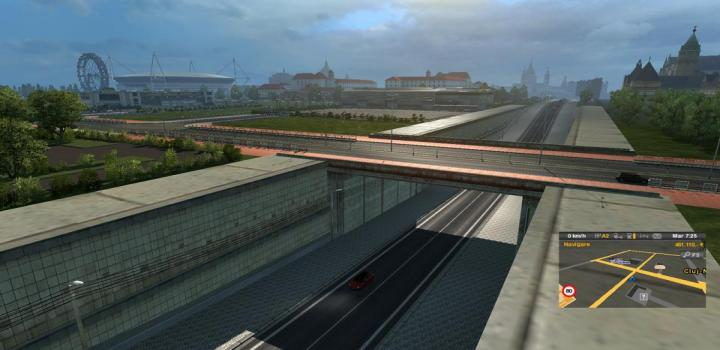 Photo of ETS2 – Roextended Map V1.7 (1.31.X)