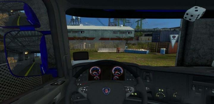 Photo of ETS2 – Scania Dark Grey Interior 1.31