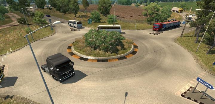 ETS2 - Ai Traffic Mod: Traffic Intensity 1 31 x | Truck
