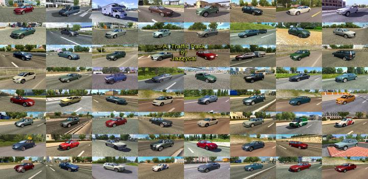Photo of ETS2 – Ai Traffic Pack By Jazzycat V8.5 (1.32.X)