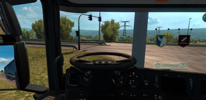 Photo of ETS2 – Animated Steering Wheel In All Trucks 1.32