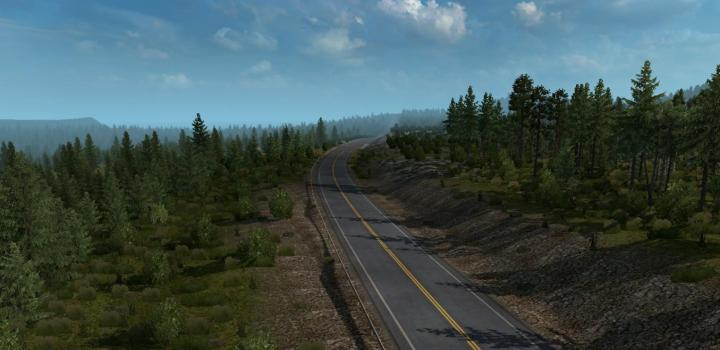 Photo of ETS2 – Canada Map V0.2.1 1.32.x