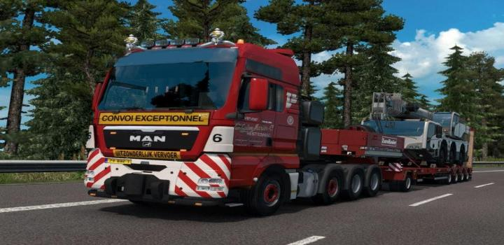 ETS2 - Realistic Truck And Cabin Physics By Zacharias 1 32 x