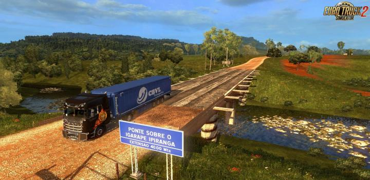 Photo of ETS2 – Eaa Map Normal V5.0.5 Alpha (1.32.x)