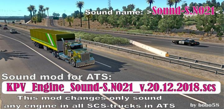 Photo of ATS – Engine Sound S.n021 (1.33.x)