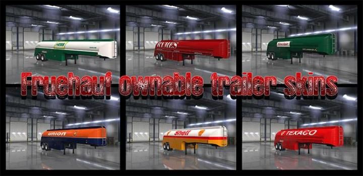 ETS2 - Rear Bumper Slots For Ownable Trailers V1 (1 32 x