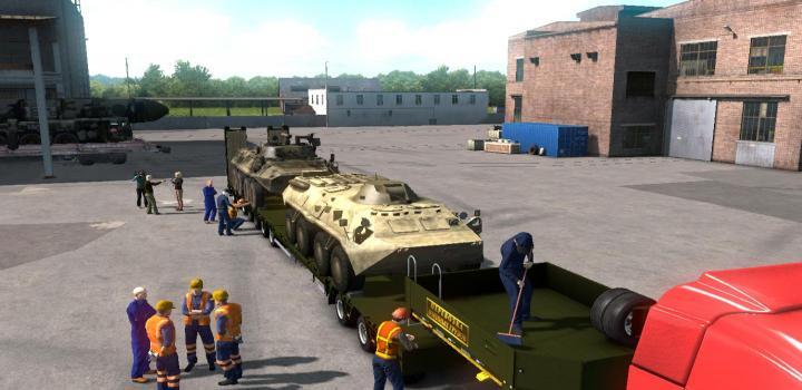 ETS2 - Military Oversized Cargo V1 For Dlc Beyond The Baltic