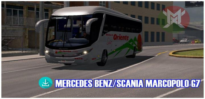 Photo of ATS – Mercedes Benz/Scania Marcopolo G7 (1.34.x)