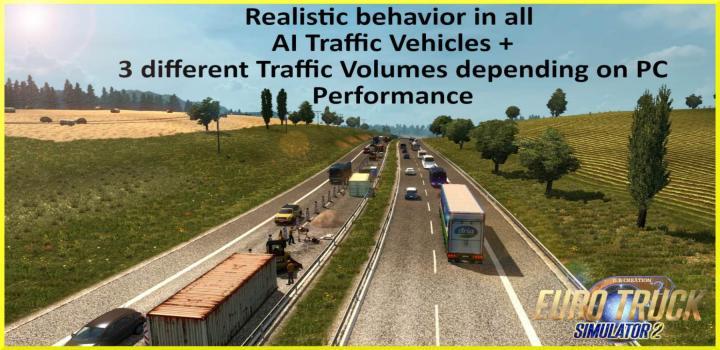 ETS2 - Ai Traffic Mod High Intensity (1 34 x) | Truck