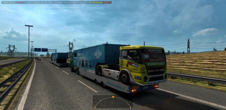 ETS2 - Scs Etrc Trailers In Ai Traffic (1 34 x) | Truck