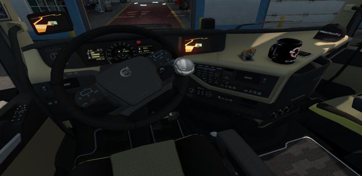 ETS2 - Krasnaia Backlight Fittings Volvo Fh 2012 (1 34 x