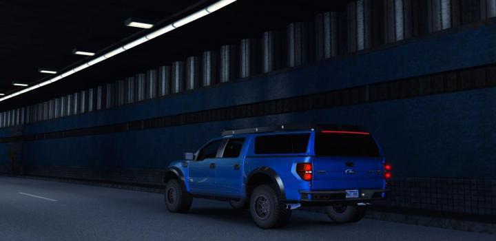 Photo of ATS – Ford F-150 Raptor Fix And Addon (1.35.x)